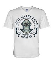 Muff Divers Union V-Neck T-Shirt thumbnail