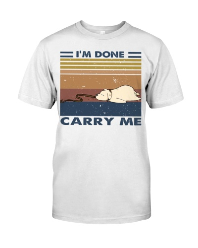 I'm Done Carry Me