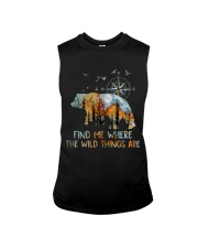 Find Me Where The Wild Things Sleeveless Tee thumbnail