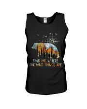 Find Me Where The Wild Things Unisex Tank thumbnail