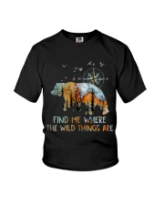 Find Me Where The Wild Things Youth T-Shirt thumbnail
