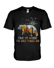 Find Me Where The Wild Things V-Neck T-Shirt thumbnail