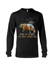Find Me Where The Wild Things Long Sleeve Tee thumbnail