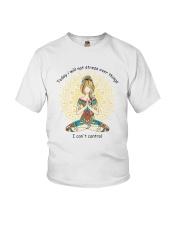 Will Not Stress Youth T-Shirt thumbnail