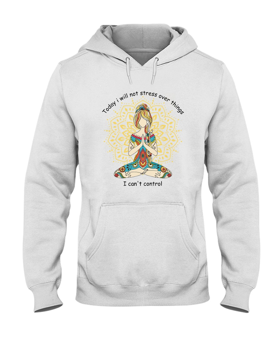 Will Not Stress Hooded Sweatshirt