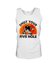 Shut Your Five Hole Unisex Tank thumbnail