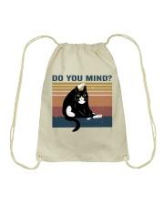 Do You Mind Drawstring Bag thumbnail