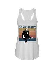 Do You Mind Ladies Flowy Tank thumbnail