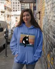 Do You Mind Hooded Sweatshirt lifestyle-unisex-hoodie-front-1