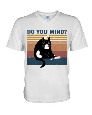 Do You Mind V-Neck T-Shirt thumbnail