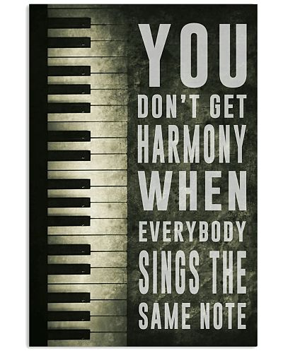 You Don't Get Harmony