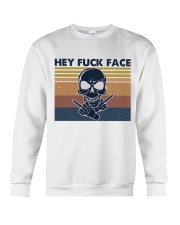 Hey Fuck Face Crewneck Sweatshirt thumbnail