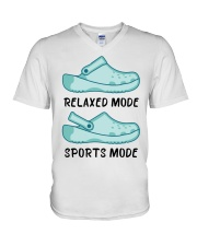 Two Kinda Crocs V-Neck T-Shirt thumbnail