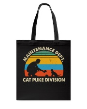 Cat Puke Division Tote Bag thumbnail