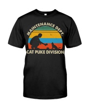 Cat Puke Division Premium Fit Mens Tee thumbnail