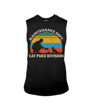 Cat Puke Division Sleeveless Tee thumbnail
