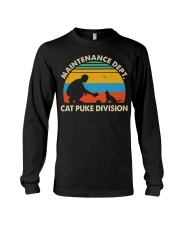 Cat Puke Division Long Sleeve Tee thumbnail