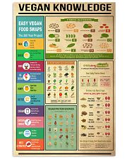 Vegan Knowledge 11x17 Poster front