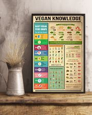 Vegan Knowledge 11x17 Poster lifestyle-poster-3