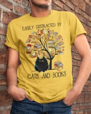 Cats And Books Classic T-Shirt apparel-classic-tshirt-lifestyle-26