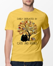 Cats And Books Classic T-Shirt lifestyle-mens-crewneck-front-13