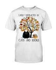 Cats And Books Premium Fit Mens Tee thumbnail