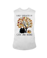 Cats And Books Sleeveless Tee thumbnail
