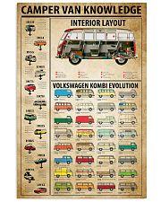 Camper Van Knowledge 11x17 Poster front