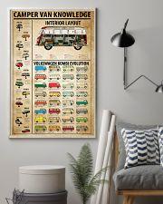 Camper Van Knowledge 11x17 Poster lifestyle-poster-1