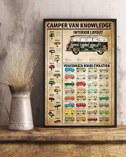 Camper Van Knowledge 11x17 Poster lifestyle-poster-3