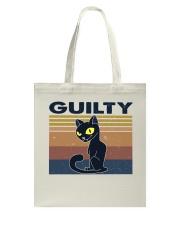 Guilty Cat Tote Bag thumbnail