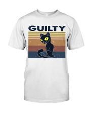 Guilty Cat Classic T-Shirt front