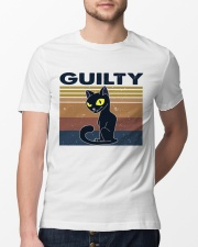 Guilty Cat Classic T-Shirt lifestyle-mens-crewneck-front-13