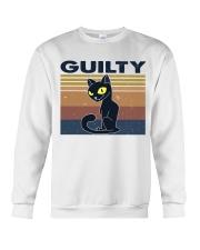 Guilty Cat Crewneck Sweatshirt thumbnail