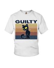 Guilty Cat Youth T-Shirt thumbnail