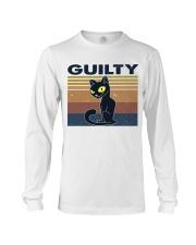 Guilty Cat Long Sleeve Tee thumbnail