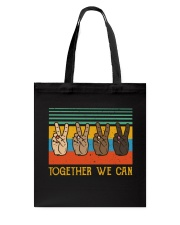 Together We Can Tote Bag thumbnail