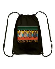 Together We Can Drawstring Bag thumbnail