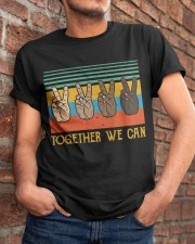 Together We Can Classic T-Shirt apparel-classic-tshirt-lifestyle-26