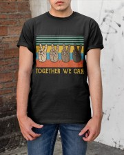 Together We Can Classic T-Shirt apparel-classic-tshirt-lifestyle-31
