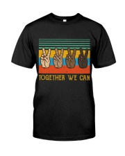 Together We Can Classic T-Shirt front