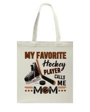 My Favorite Hockey Player Tote Bag thumbnail