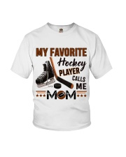 My Favorite Hockey Player Youth T-Shirt thumbnail