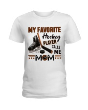 My Favorite Hockey Player Ladies T-Shirt thumbnail