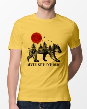 Never Stop Exploring Classic T-Shirt lifestyle-mens-crewneck-front-13