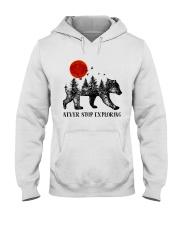 Never Stop Exploring Hooded Sweatshirt thumbnail