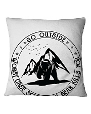 Go Outside Square Pillowcase thumbnail