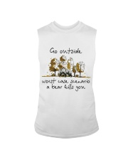 Go Outside Sleeveless Tee tile