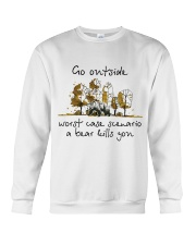 Go Outside Crewneck Sweatshirt tile
