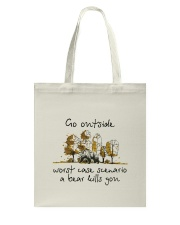 Go Outside Tote Bag thumbnail